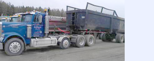 End Dump Truck >> Trucking Services Lenz Enterprises Stanwood Arlington